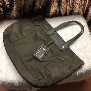 Marc diaper bag. Used. Brown missing strap